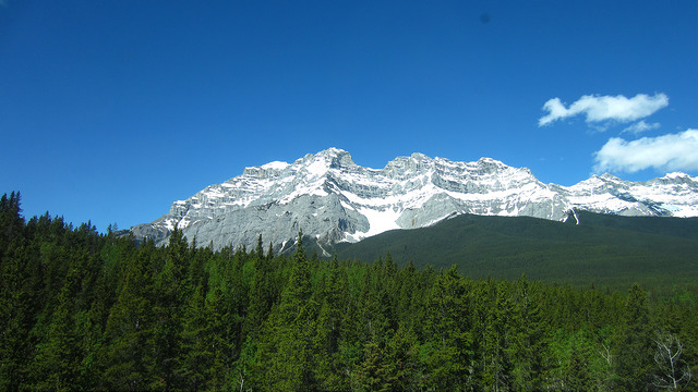 At Banff, heading for Bankhead