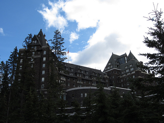 Going to the Fairmont Banff Springs