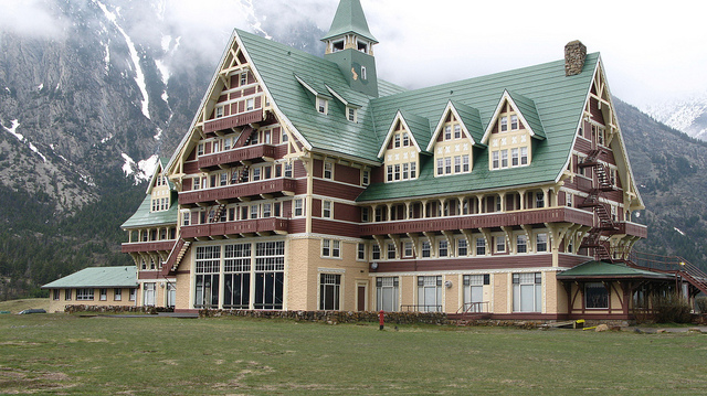 Prince of Wales Hotel at Waterton